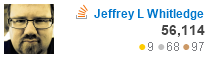 profile for Jeffrey L Whitledge at Stack Overflow, Q&A for professional and enthusiast programmers