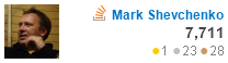 profile for Mark Shevchenko at Stack Overflow, Q&A for professional and enthusiast programmers