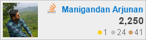 profile for Manigandan Arjunan at Stack Overflow, Q&A for professional and enthusiast programmers