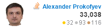 profile for Alexander Prokofyev at Stack Overflow, Q&A for professional and enthusiast programmers