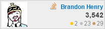 Brandon Henry on Stack Overflow