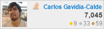 profile for Carlos Gavidia at Stack Overflow, Q&A for professional and enthusiast programmers