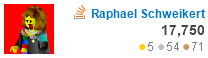 profile for Raphael Schweikert at Stack Overflow, Q&A for professional and enthusiast programmers