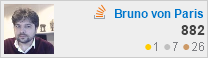 profile for Bruno von Paris at Stack Overflow, Q&A for professional and enthusiast programmers