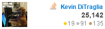profile for Kevin DiTraglia at Stack Overflow, Q&A for professional and enthusiast programmers