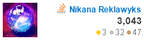 profile for Nikana Reklawyks at Stack Overflow, Q&A for professional and enthusiast programmers