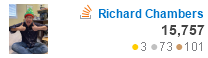 profile for Richard Chambers at Stack Overflow, Q&A for professional and enthusiast programmers