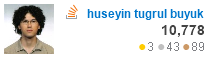 profile for huseyin tugrul buyukisik at Stack Overflow, Q&A for professional and enthusiast programmers