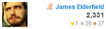 profile for James Elderfield at Stack Overflow, Q&A for professional and enthusiast programmers