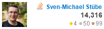 profile for Sven-Michael Stübe at Stack Overflow, Q&A for professional and enthusiast programmers