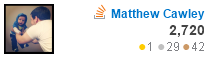 profile for Matthew Cawley at Stack Overflow, Q&A for professional and enthusiast programmers