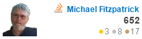 profile for Michael Fitzpatrick at Stack Overflow, Q&A for professional and enthusiast programmers