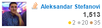 profile for Aleksandar Stefanović at Stack Overflow, Q&A for professional and enthusiast programmers
