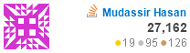 profile for Mudassir Hasan at Stack Overflow, Q&A for professional and enthusiast programmers