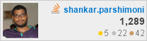profile for shankar at Stack Overflow, Q&A for professional and enthusiast programmers