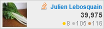 Profile for Julien Lebosquain at Stack Overflow