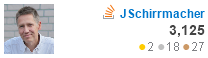 profile for JSchirrmacher at Stack Overflow, Q&A for professional and enthusiast programmers