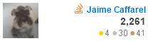 profile for Jaime Caffarel at Stack Overflow, Q&A for professional and enthusiast programmers