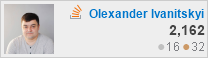 profile for Olexander at Stack Overflow, Q&A for professional and enthusiast programmers
