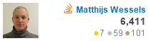 profile for Matthijs Wessels at Stack Overflow, Q&A for professional and enthusiast programmers