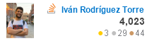 profile for Iván Rodríguez Torres at Stack Overflow, Q&A for professional and enthusiast programmers