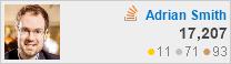 Adrian Smith on stackoverflow.com