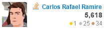 profile for Carlos Rafael Ramirez at Stack Overflow, Q&A for professional and enthusiast programmers