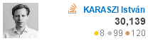 profile for KARASZI István at Stack Overflow, Q&A for professional and enthusiast programmers