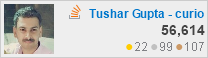 profile for Tushar Gupta at Stack Overflow, Q&A for professional and enthusiast programmers