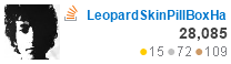 profile for LeopardSkinPillBoxHat at Stack Overflow, Q&A for professional and enthusiast programmers