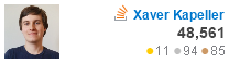 profile for Xaver Kapeller at Stack Overflow, Q&A for professional and enthusiast programmers