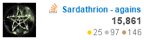 profile for Sardathrion - Reinstate Monica at Stack Overflow, Q&A for professional and enthusiast programmers