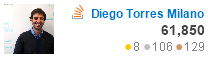 profile for Diego Torres Milano at Stack Overflow, Q&A for professional and enthusiast programmers