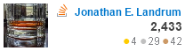 profile for Jonathan Landrum at Stack Overflow, Q&A for professional and enthusiast programmers