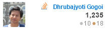 profile for Dhrubajyoti Gogoi at Stack Overflow, Q&A for professional and enthusiast programmers