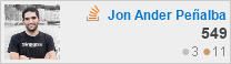 profile for Jon Ander Peñalba at Stack Overflow, Q&A for professional and enthusiast programmers
