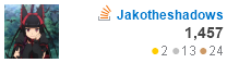 profile for Jakotheshadows at Stack Overflow, Q&A for professional and enthusiast programmers