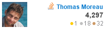 profile for Thomas Moreau at Stack Overflow, Q&A for professional and enthusiast programmers
