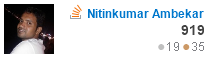 profile for Nitinkumar Ambekar at Stack Overflow, Q&A for professional and enthusiast programmers