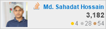 profile for Md. Sahadat Hossain at Stack Overflow, Q&A for professional and enthusiast programmers