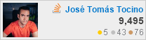 profile for José Tomás Tocino at Stack Overflow, Q&A for professional and enthusiast programmers