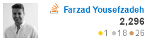 profile for Farzad Yousefzadeh at Stack Overflow, Q&A for professional and enthusiast programmers