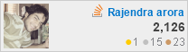 profile for Rajendra arora on Stack Exchange, a network of free, community-driven Q&A sites