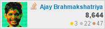 profile for Ajay Brahmakshatriya at Stack Overflow, Q&A for professional and enthusiast programmers