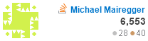 profile for Michael Mairegger at Stack Overflow, Q&A for professional and enthusiast programmers