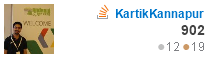 profile for KartikKannapur at Stack Overflow, Q&A for professional and enthusiast programmers