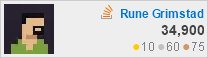 Stack Overflow profile for Rune Grimstad