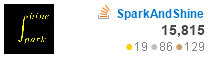 profile for sparkandshine at Stack Overflow, Q&A for professional and enthusiast programmers