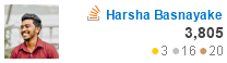 profile for Harsha Sampath at Stack Overflow, Q&A for professional and enthusiast programmers