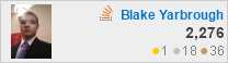 profile for Blake Yarbrough at Stack Overflow, Q&A for professional and enthusiast programmers